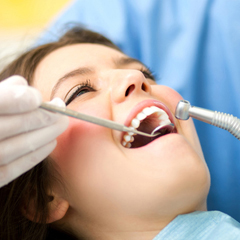 Tooth extraction with sedation