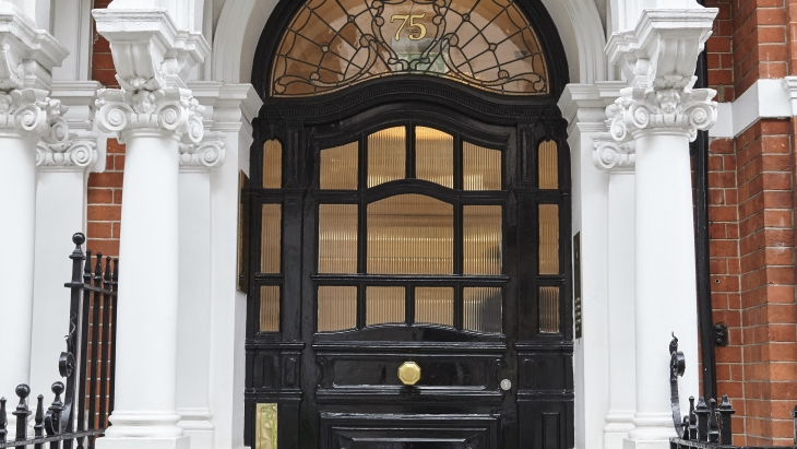 Harley Street Hair Clinic on Wimpole Street - exterior