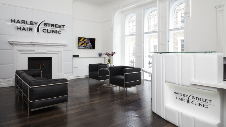 Harley Street Hair Clinic - Reception