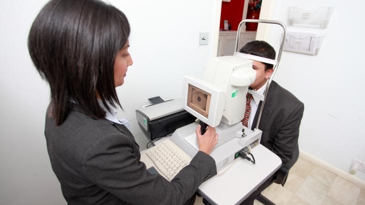 AVC - eye scan