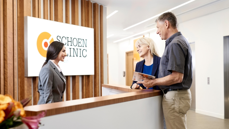 Schoen Clinic London - reception